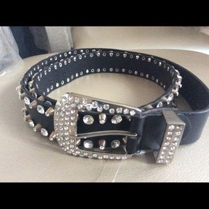 Sexy Black Rhinestone belt ❤️ new